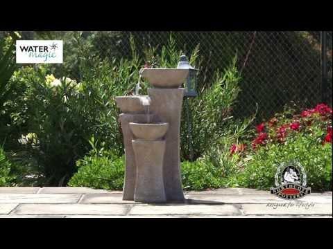 Cascade Fountain Installation Video
