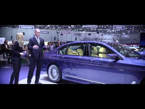 ALPINA Press Conference at the 2016 Geneva International Motor Show