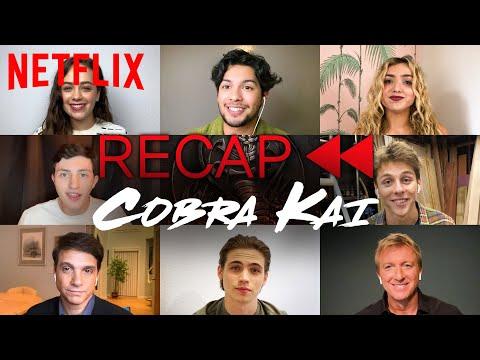 Get Ready for Cobra Kai Season 3! Official Cast Recap of Season 1 & 2 | Netflix