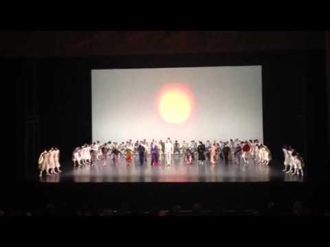 東京バレエ団パリ・オペラ座公演「ザ・カブキ」カーテンコール2