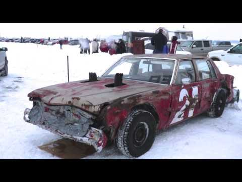 Beauharnois Ice Track, Beauharnois, Quebec, Canada - Racing Action
