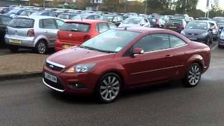 FORD FOCUS DIESEL COUPE CABRIOLET (2009) 2.0 TDCI CC-2 2DR [DPF] - LX09ZHH