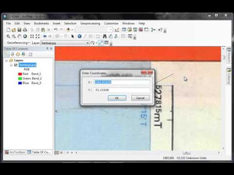 Tutorial Arcgis Belajar Dasar Digitasi #1 Georeferencing Dengan Projection UTM