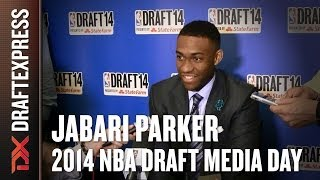 Jabari Parker 2014 NBA Draft Media Day Interview