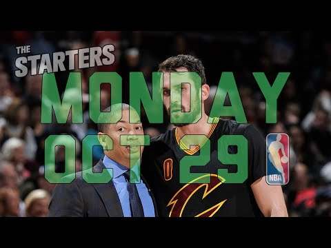 Video: NBA Daily Show: Oct. 29 - The Starters