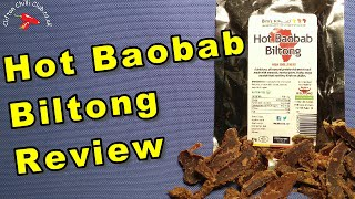 Hot Baobab Biltong Review | Made by Bim's Kitchen