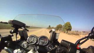 2. BMW K1200RS Short speed test