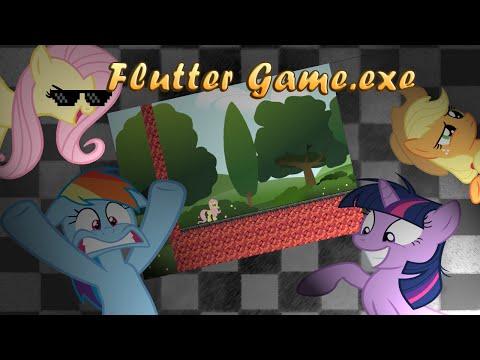 Прохождение Flutter Game.exe [Лунная походка возвращается!]
