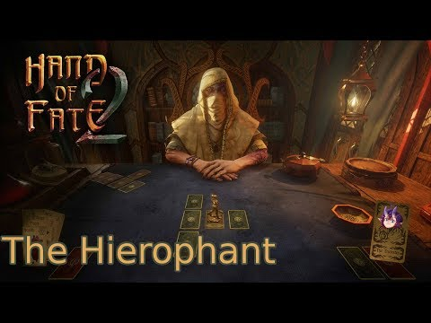 Flik Plays Hand of Fate 2  Part 6  The Hierophant [Twitch Integration ON]
