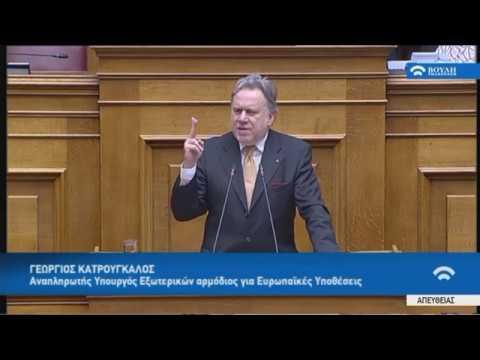 Γ.Κατρούγκαλος (Αν.Υπουργ. Εξωτερικών) (Αναθεώρηση Συντάγματος)(12/02/2019)