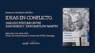 """Panel sobre el libro """"Ideas en conflicto"""" presentado por Leonel Fernández en Santiago"""