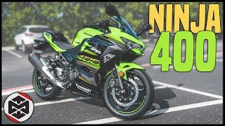 8. First Ride on the Ninja 400!