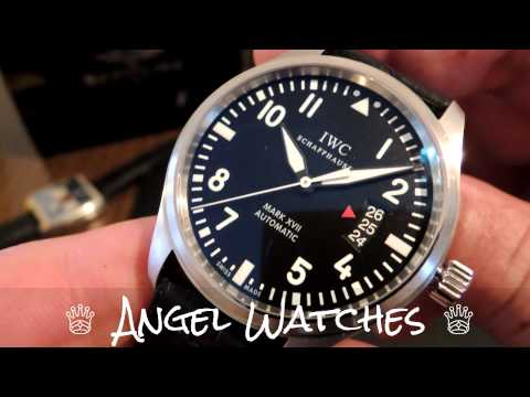 IWC Reviews - http://www.facebook.com/angel.satovi The Pilot's Watch Mark XVII is powered by the automatic 30110-calibre movement. With its soft-iron inner case for protec...