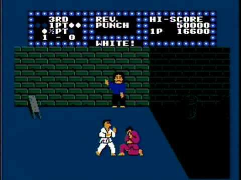 karate champ nes rom cool