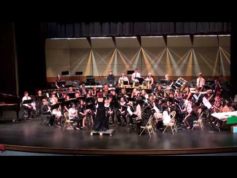 HM Jackson High School - Final Concert 2013-2014; Honors Wind Ensemble - Danzon No. 2