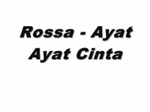 Download Lagu Rossa MP3 Ayat-Ayat Cinta