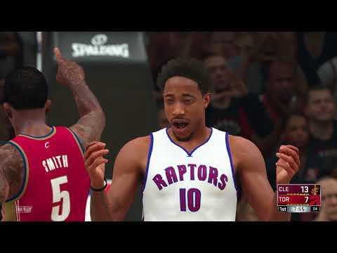 NBA 2K18 Cleveland Cavaliers vs Toronto Raptors