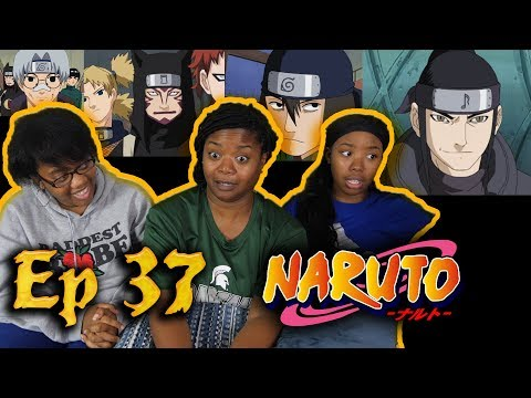 Naruto - Episode 37 Surviving the Cut, The Rookie Nine Together Again! Family/Group Reaction