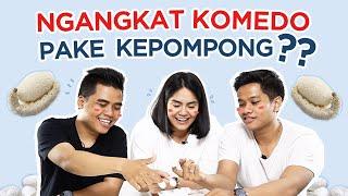 Download Video Aga, Imani & Pras Angkat Komedo Pakai Kepompong??   FD Tried & Tested MP3 3GP MP4
