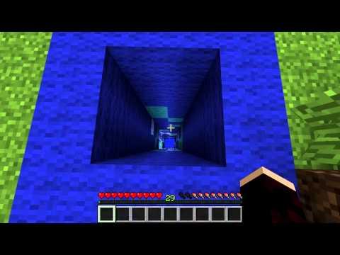 Minecraft Tutorials: Water Elevator