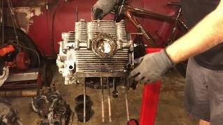 Volkswagen 1600 engine rebuild restoration - VW Engine disassembly - Part (3)