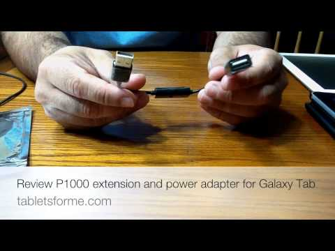 How to Charge your Samsung Galaxy Tablet 10.1 with a standard USB port!