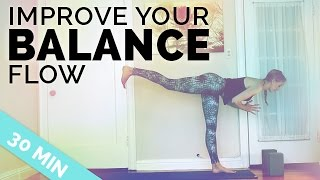 Video Improve Your Balance Yoga Sequence ♥ All My Tips to Balance in Yoga Poses ♥ (30-Min) MP3, 3GP, MP4, WEBM, AVI, FLV Maret 2018