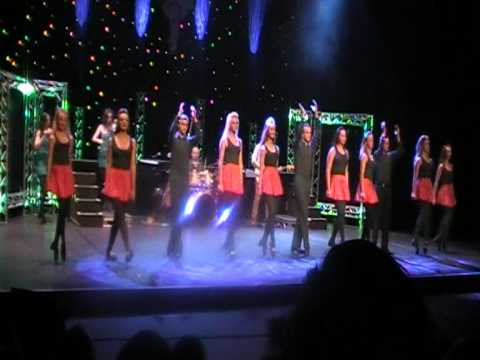 The Cullen Academy preforming with The Essence of Ireland