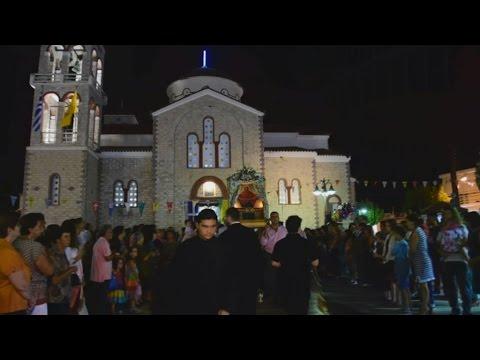 Η εορτή της Τιμίας Ζώνης στη Νέα Τίρυνθα