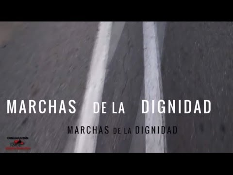 Video: 22M Marchas de la Dignidad