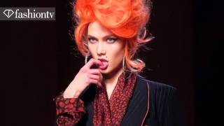 Jean Paul Gaultier's Amy Winehouse Tribute At Spring 2012 Paris Couture Fashion Week | FashionTV FTV