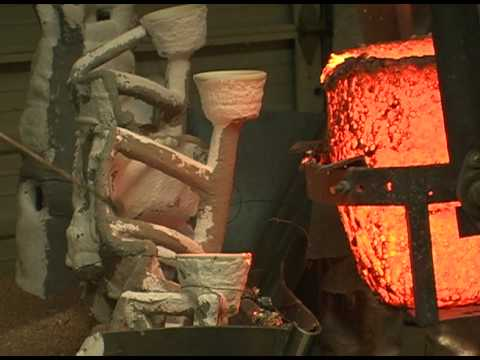 Still image from Sculpture: The Lost Wax Casting Process
