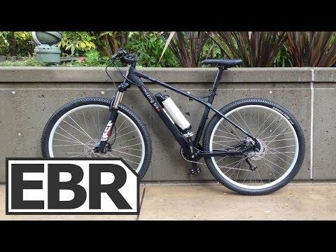 Emazing Bike Apollo 93pd Video Review – Lightweight Hardtail Electric Mountain Bike 29er