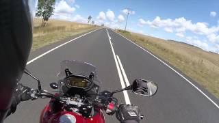 Ipswich Australia  city pictures gallery : Esk to Ipswich Australia - Honda CB500XA