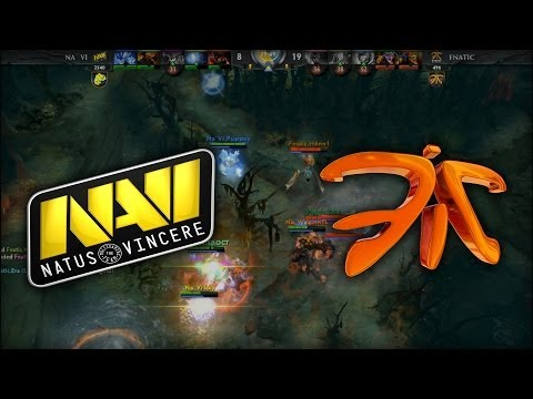 Fnatic vs Na'Vi, ULTRA KILL by Trixi | HyperX D2L