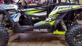 9. 2017 POLARIS RZR XP 1000 EPS