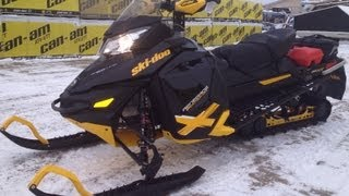 11. 2013 Skidoo Renegade Backcountry X Dressed up with Linq Accessories