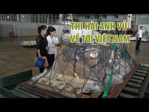 Người thân khóc nghẹn khi linh cữu Nghệ sĩ Anh Vũ về sân bay Tân Sơn Nhất - Thời lượng: 1:59.
