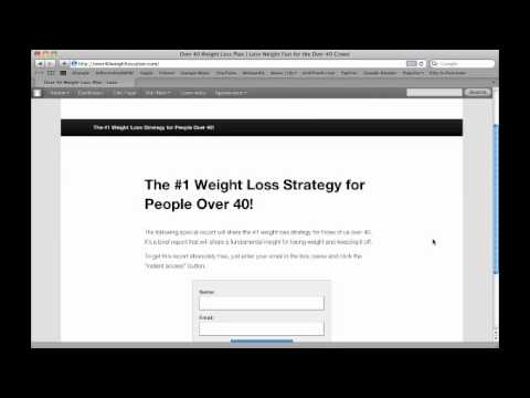 Make Money Online Setting the Landing Page 20