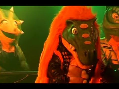 Heavysaurios video La goma de mascar de Sofi - Argentina 2012