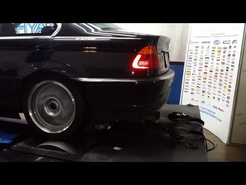 E46 BMW 2000 323Ci Custom Headers Exhaust Note
