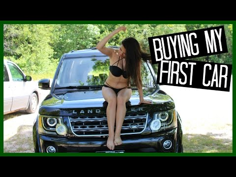 BUYING MY FIRST CAR (Land Rover LR4)