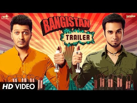 Bangistan - Official Trailer | Riteish Deshmukh, Pulkit Samrat, and Jacqueline Fernandez