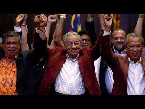 Nach 60 Jahren: Regierungswechsel in Malaysia - 92-jä ...