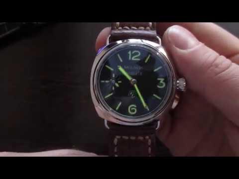 Хомаж Panerai Radiomir Black Seal из Молнии СССР 3602 (видео)