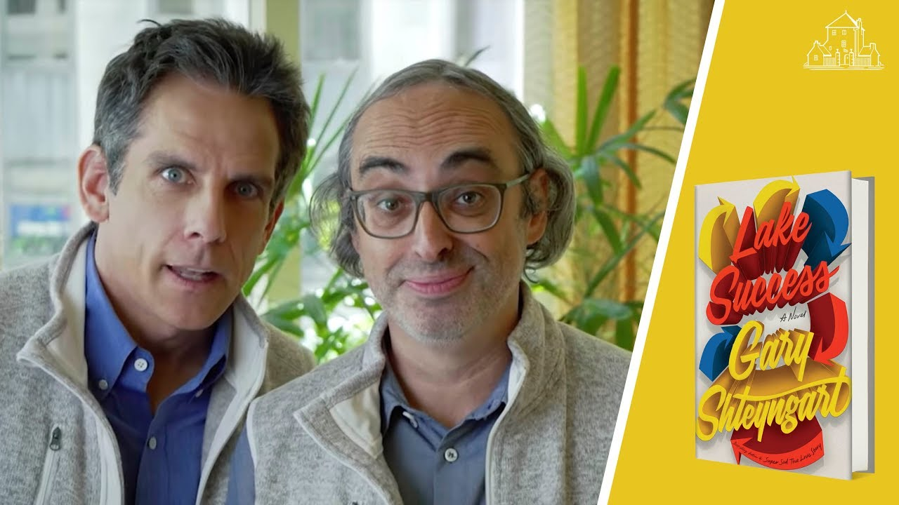 LAKE SUCCESS Book Trailer feat. Gary Shteyngart and Ben Stiller