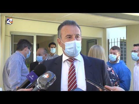 Ministro Salinas en Quebracho resaltó la importancia de los cuidados que deben tener quienes están en cuarentena