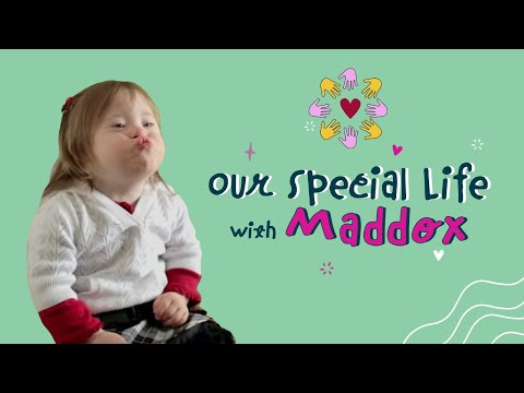 Down's syndrome - Maddox has Down Syndrome. She's 2 years old and is a new big sister! Her mom Jamie not only does special care at home for Maddox, but that is what her day jo...