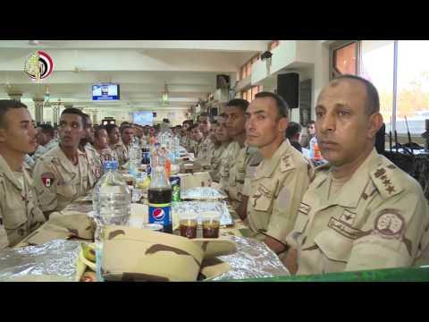 وزير الدفاع يشارك ابطال المنطقه الجنوبية وطلبة كلية ضباط الإحتياط مظاهر الاحتفال بشهر رمضان المبارك