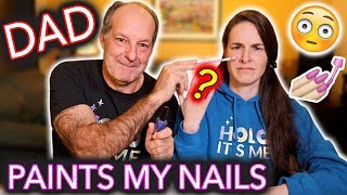 Video My Dad Paints My Nails (he doesn't know what YouTube is) MP3, 3GP, MP4, WEBM, AVI, FLV Mei 2018